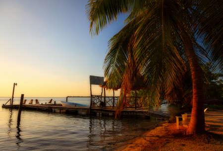 quite: Caye Caulker Belize