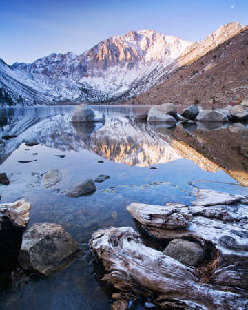 convict: Cold Morning at Convict Lake