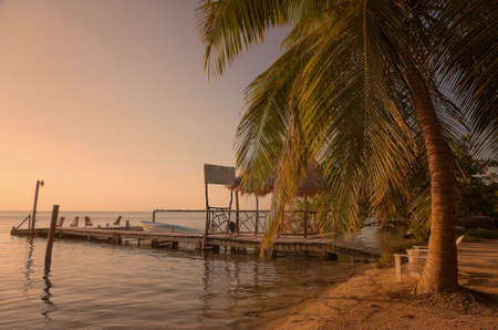 Caye Caulker is a small 2 mile long island in Belize.