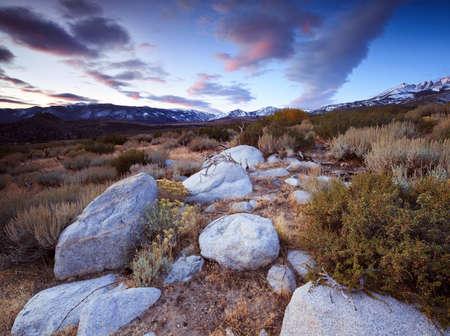 sierras: uttermilk Hill is located in the Tungsten Hills just west of Bishop, California.