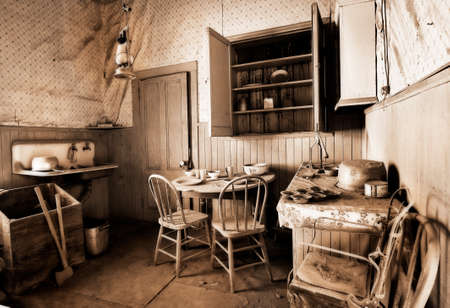 mining town: Ghostown Bodie in California