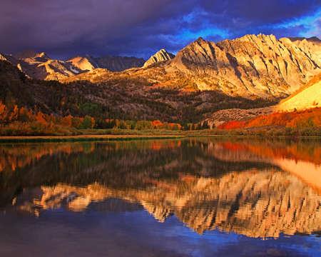sierras: North Lake Reflection