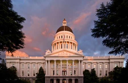 De stad van Sacramento Californië Stockfoto