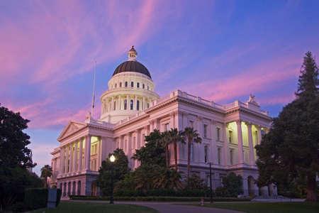 La Ciudad de Sacramento California Foto de archivo - 69429398