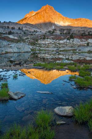 sierras: North Peak Reflection