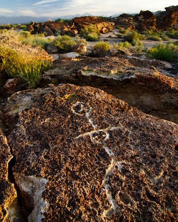 sierras: Petroglyphs in Volcanic Tablelands