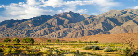 sierras: The Volcanic Tablelands is a reserve in the Eastern Sierras of California Stock Photo