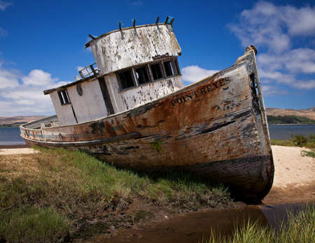 seashores: Point Reyes Shipwreck