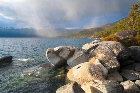 sierra nevada: Beautiful Lake Tahoe California