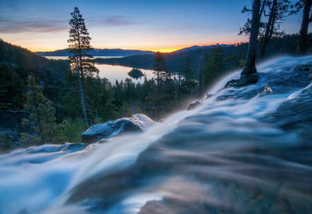 rock formation: Beautiful Lake Tahoe California
