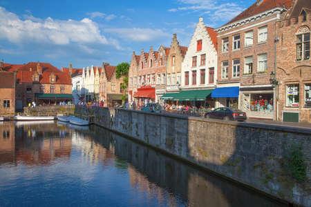 Beautiful and romantic city of Bruge Belgium