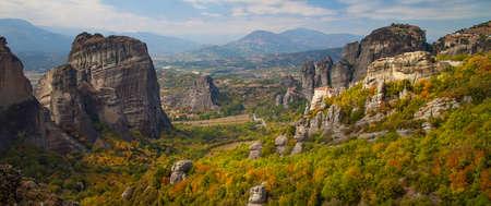 inaccessible: Meteora, Kalambaka Greece Stock Photo