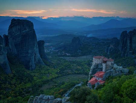 Meteora, Kalambaka Greece Stock Photo