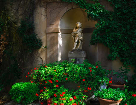cherubs: Cupid Statue Tuscany