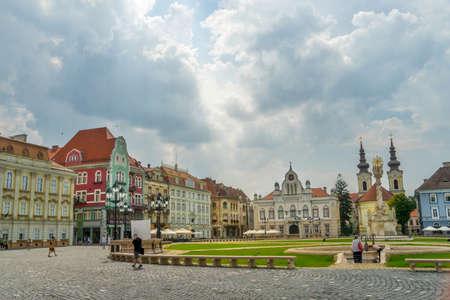 Città di Timisoara in Romania Archivio Fotografico - 79528335