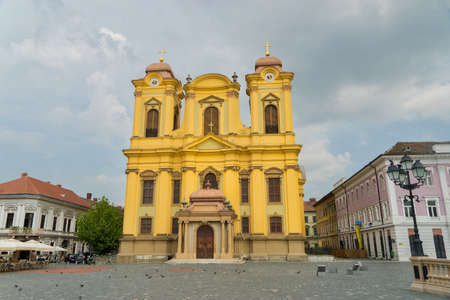 beautiful location: City of Timisoara in Romania