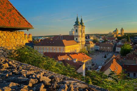 ハンガリーのエゲルの美しいワイン地方