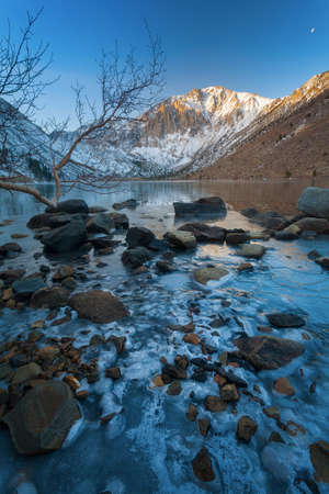 Cold Morning at Convict Lake