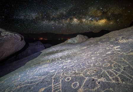 Petroglyphs in Volcanic Tablelands