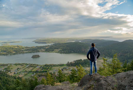 Mount Erie is the tallest mountain in the Fidalgo Island