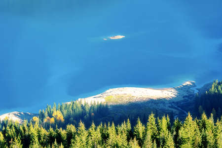 Aerial View of Kachess Lake