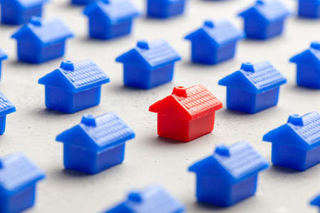 Choosing the right real estate to buy or rent house. How to find a new home.
