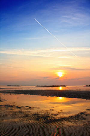 Sunrise on the beach Stock Photo - 13052715