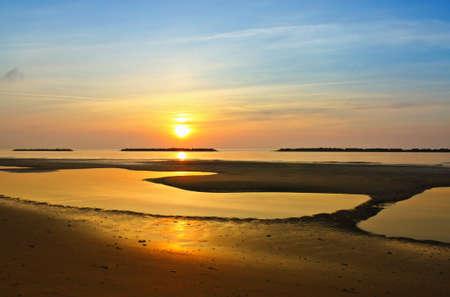 Sunrise on the beach Stock Photo - 13052683