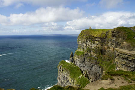 View of The Cliffs of Moher, Ireland photo