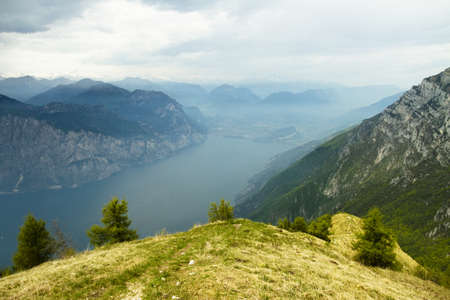Views of Lake Garda, Monte Baldo, Trentino, Italy photo