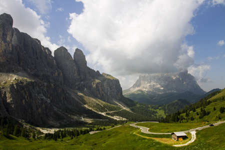 view of the Dolomites, Trentino Alto Adige photo