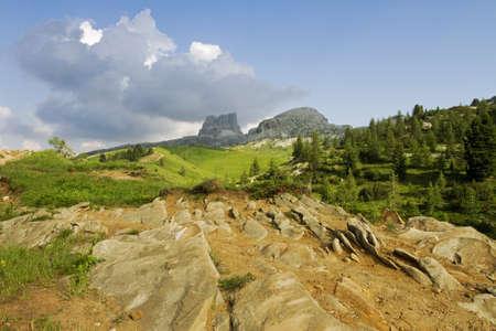 Dolomites landscape photo