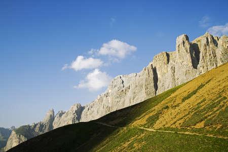 view of the Dolomites, Trentino Alto Adige photo