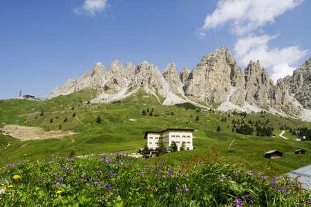 Dolomites landscape, Trentino Alto Adige photo