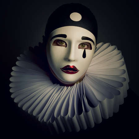 pierrot: Pierrot Stock Photo