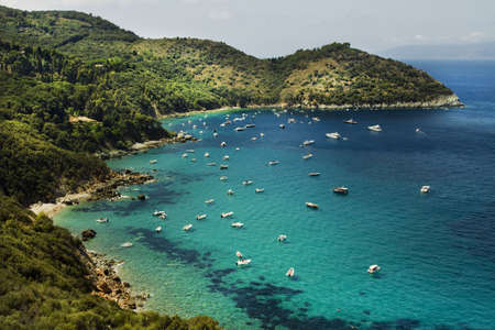view of the Argentario, Tuscany