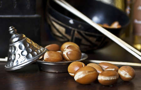 morocco: Argan nuts