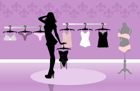 unterwäsche frau: Dessous-Shop