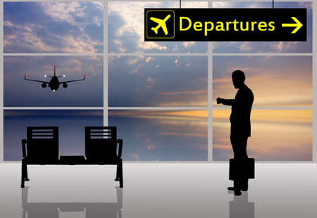 Airport scene Stock Photo - 15535969