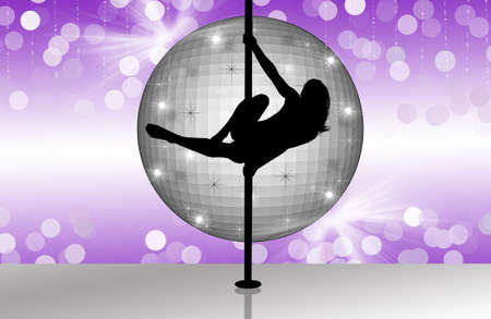 Pole dancing photo