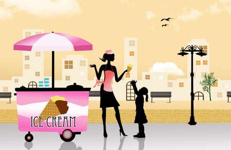 carretto gelati: gelato carrello