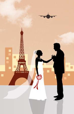 honeymoon in Paris photo