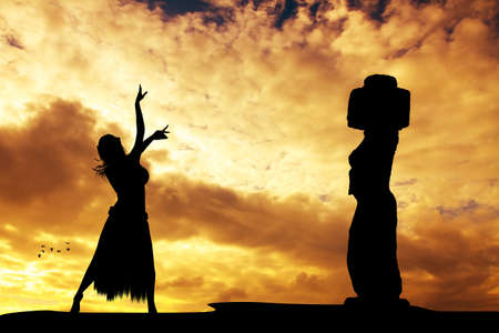 rapa nui: Festival Tapati Rapa Nui de Isla de Pascua