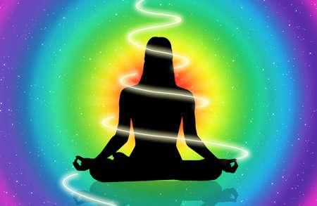 aura: kosmische Energie