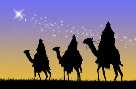 Three wise men photo