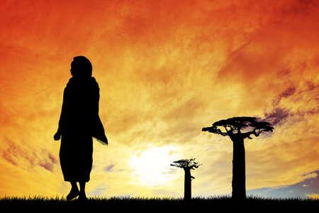masai: African woman