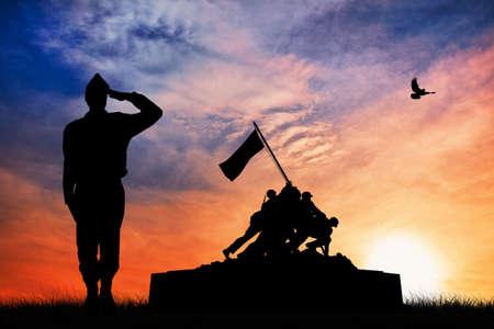 war memorial illustration