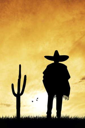 mariachi: Man met sombrero