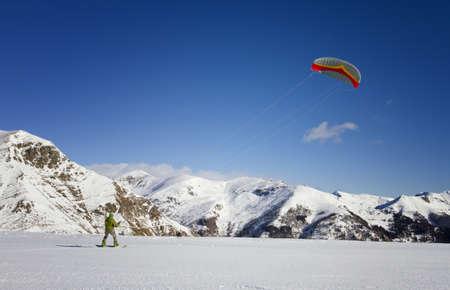 kiter: Snow kiter