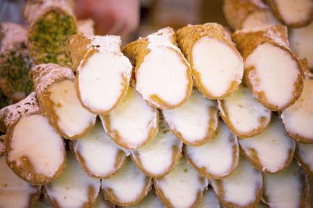 sicilian: Sicilian cannoli